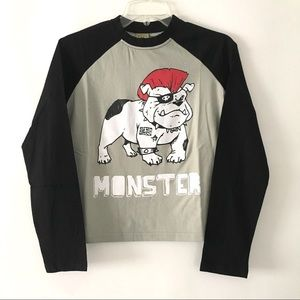 Monster Republic Bulldog T-Shirt Tee